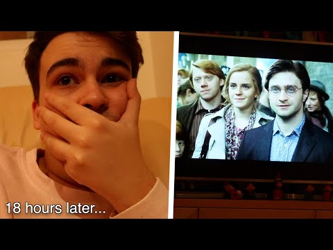 Watching The Harry Potter Films In One Sitting Challenge