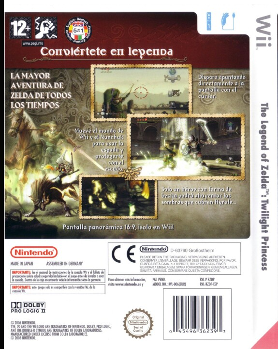 Caja Twilight Princess