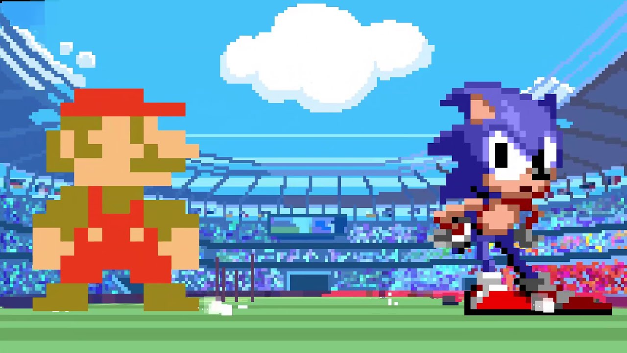 Mario & Sonic at the Olympic Games Tokyo 2020 | Classic 2D Events Reveal Trailer