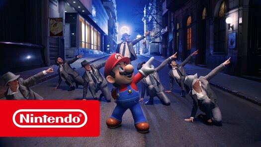 Jump Up, Super Star! - Vídeo musical de Super Mario Odyssey (Nintendo Switch)