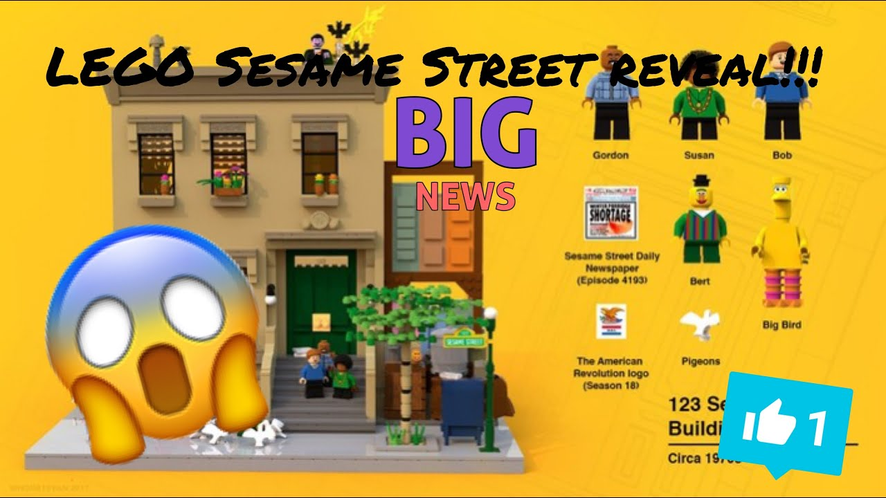 ALB News/ Lego Sesame Street Theme Reveal!!