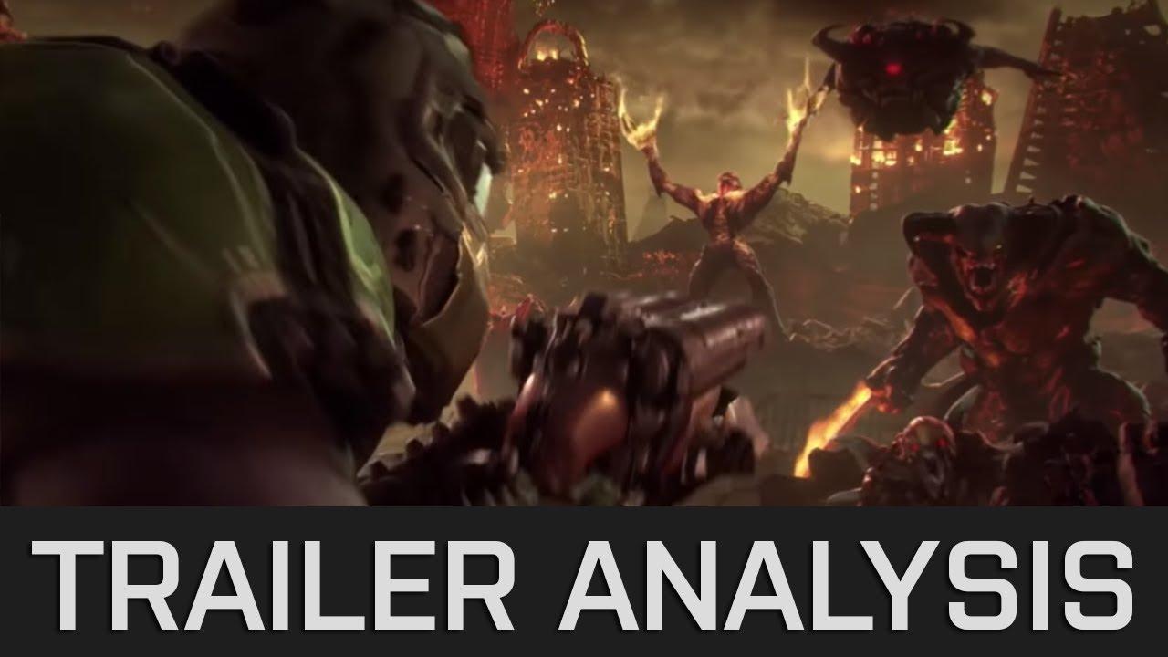 Doom Eternal - In Depth Reveal Trailer Analysis