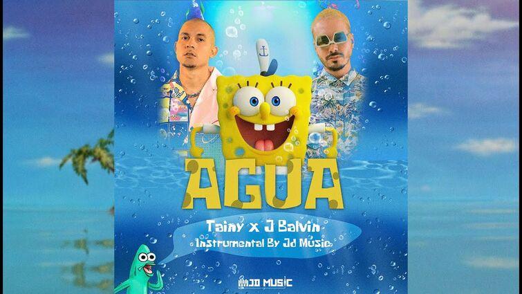 J Balvin x Tainy - AGUA   Instrumental Original By Jd Music