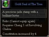 Gold Seal of The Tree