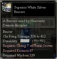 Superior White Silver Bracers.jpg