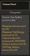 Demon Priest Epi