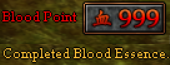 999 Blood Points - Completed Blood Essence.png