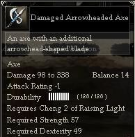 Damaged Arrowheaded Axe.jpg