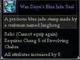 Wan Daye's Blue Jade Seal