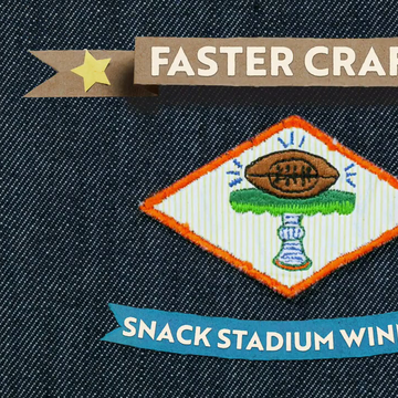 Snack Stadium Badge