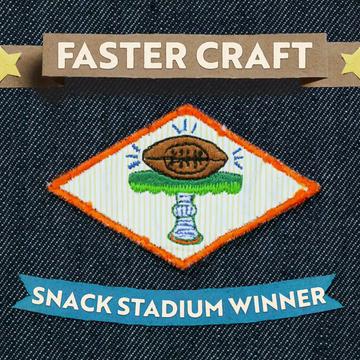Snack Stadium Badge