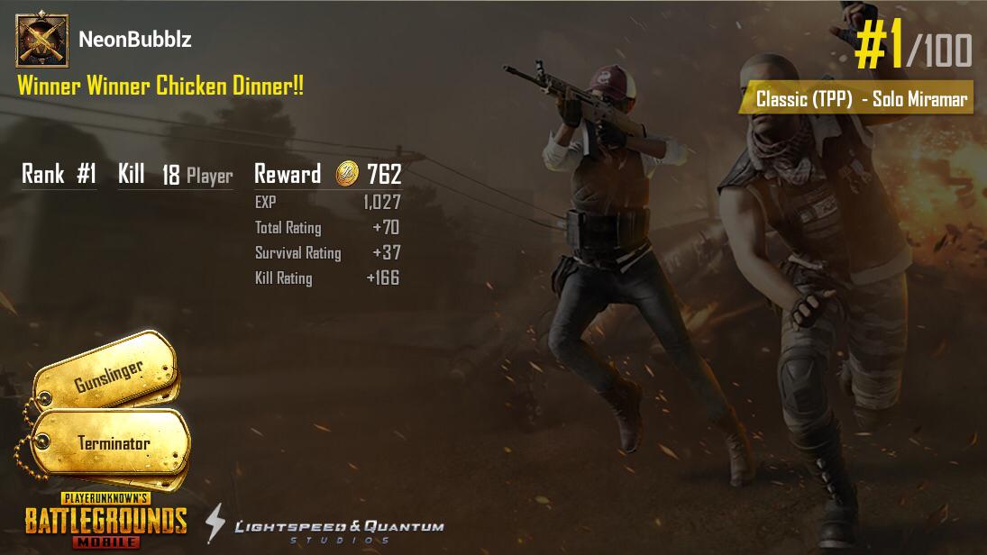 18 kill solo win!