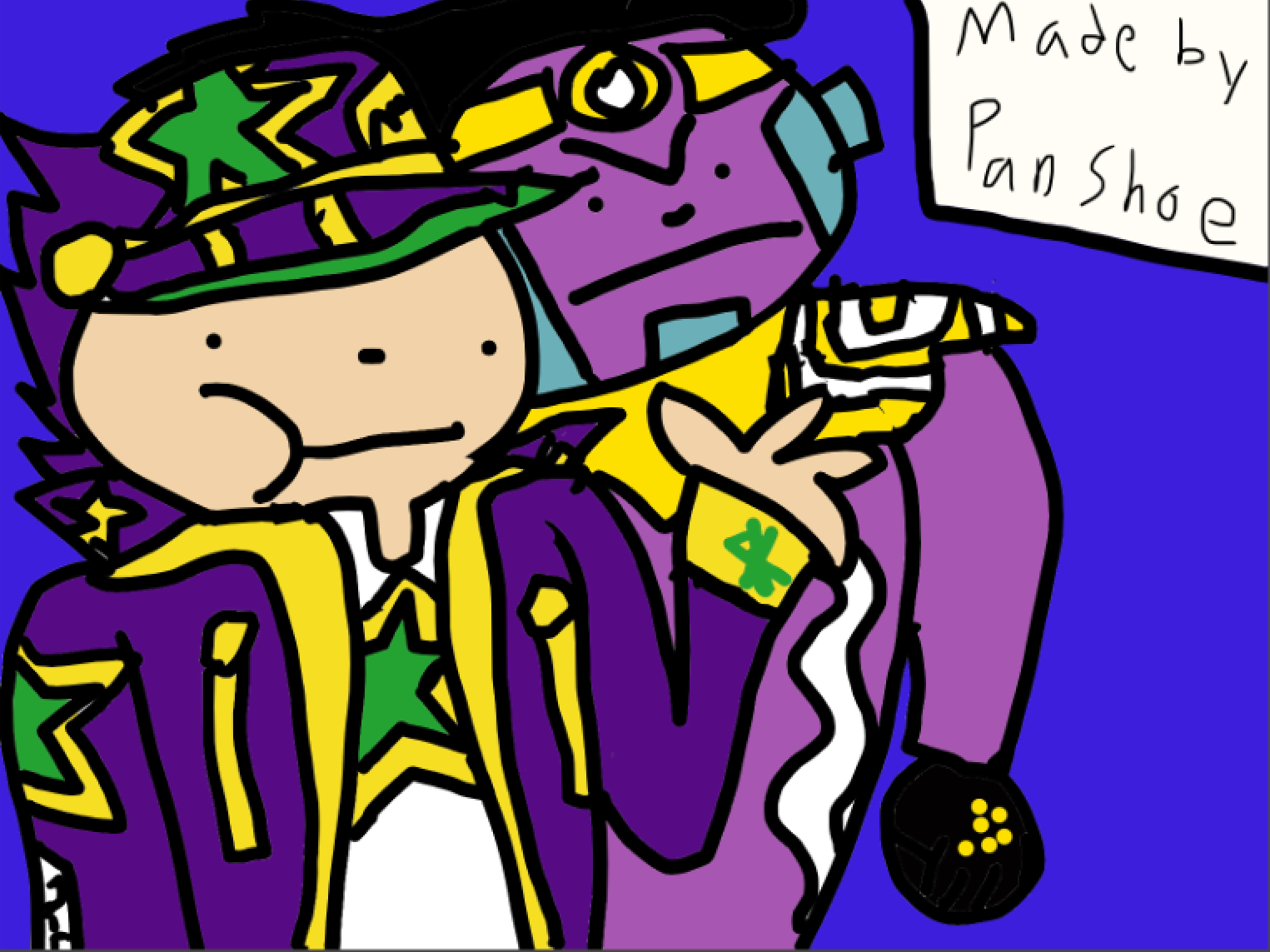 I Made More Art Since 2 People Asked Here S Jotaro Part 6 Fandom