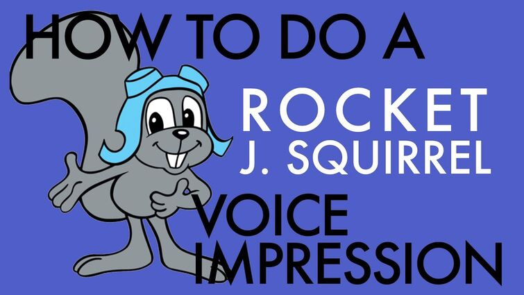 """""""How To Do A Rocket J. Squirrel Voice Impression"""" - Voice Breakdown Ep. 34"""
