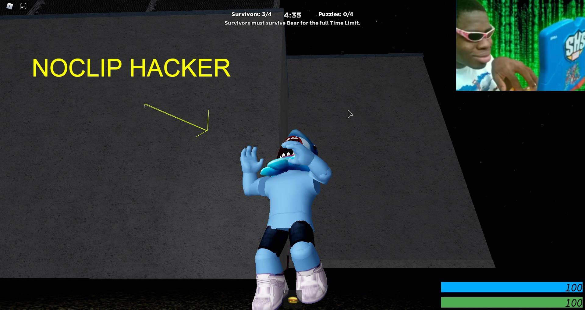 Roblox Hacks For Noclip Noclip Hacker Fandom