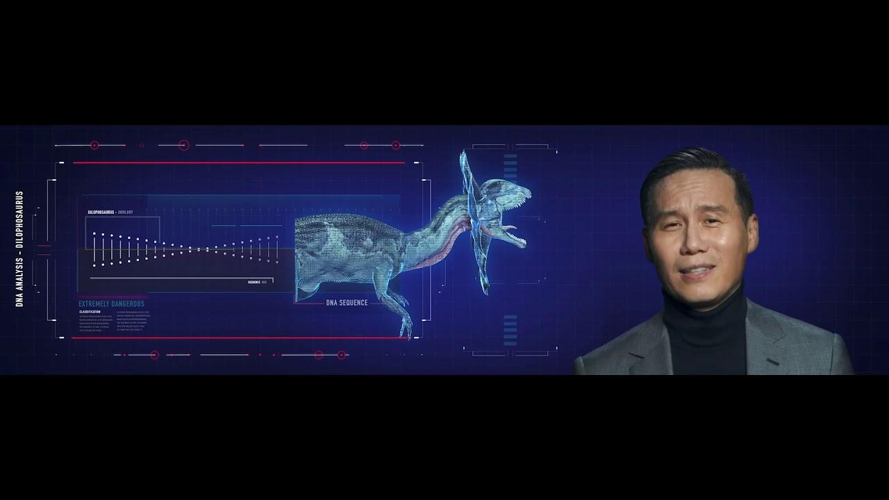Dinosaur Profile (Dilophosaurus) - Jurassic World Ride HD