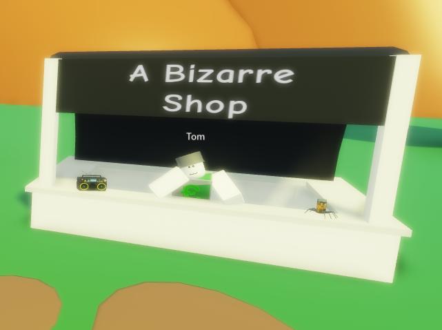A Bizarre Shop