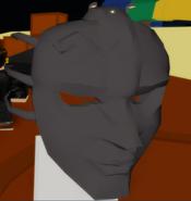 Vampire Mask closeup
