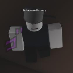 Self-Aware Dummy