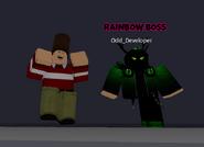 Rainbow boss