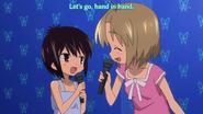 Run sings with Tooru