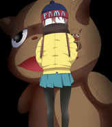 Nagi with plush