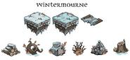 Wintermourne art