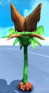Yellow plant emerge