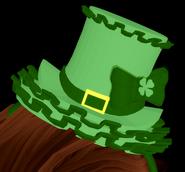 Ruffle Top Hat