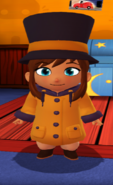 Raincoat outfit