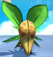 Yellow plant bite