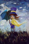 Painting Hat Kid