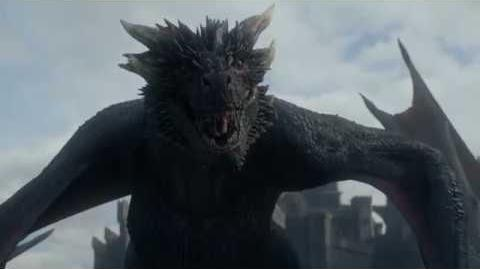 Game of Thrones 7x05 - Jon Snow meets Drogon - Daenerys reunites with Jorah