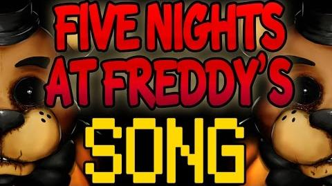 FIVE NIGHTS AT FREDDY'S SONG 'It's Me' FNAF LYRIC VIDEO-0