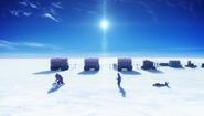 12 Snowcat caravan