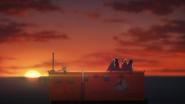 12 False sunset