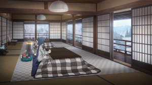 2.7 Rin at the kotatsu