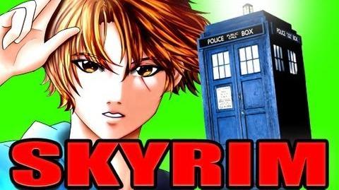 Skyrim_TARDIS_Doctor_Who_Mod!