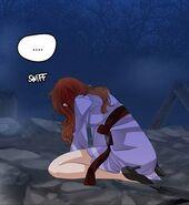 Mi-Yang weeping