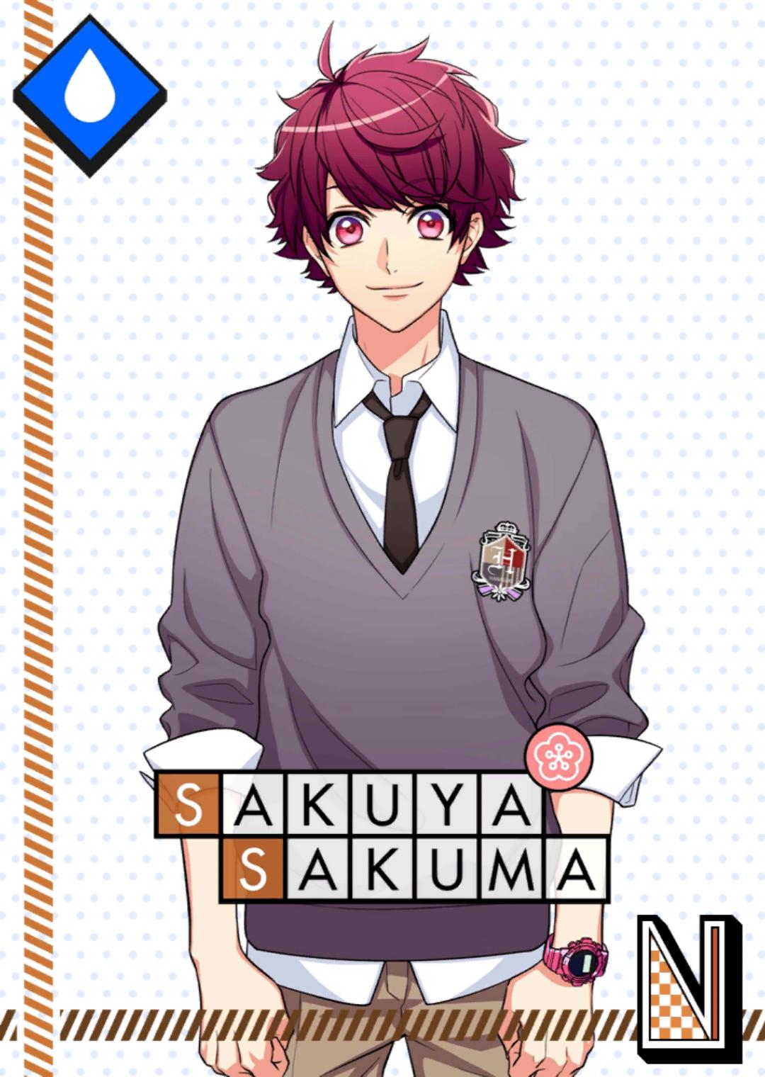 Sakuya Sakuma N Hanasaki High School unbloomed.png