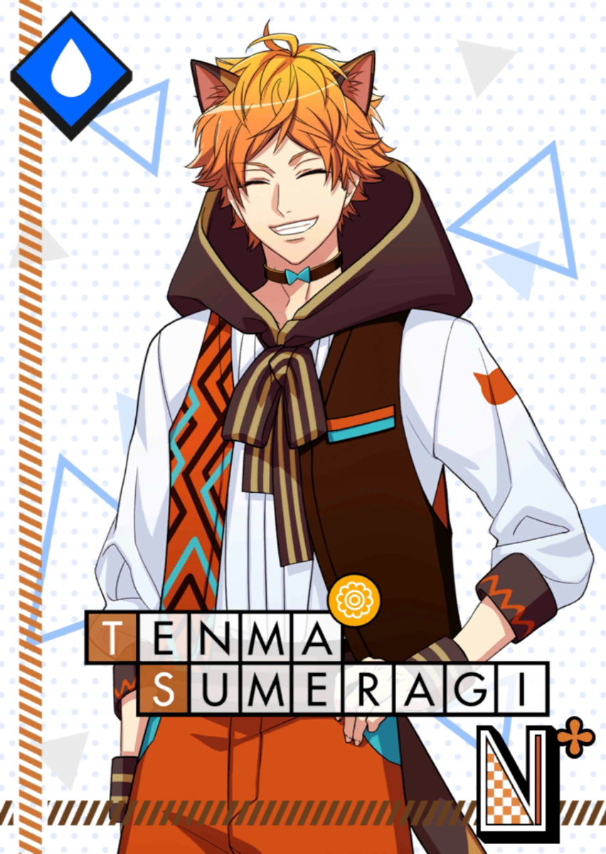 Tenma Sumeragi N The Great Sardine Search bloomed.png