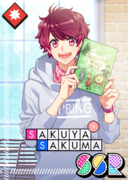 Sakuya Sakuma SSR Rainbow Locked in a Book unbloomed