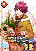 Sakuya Sakuma SR New Year Prep with You! bloomed