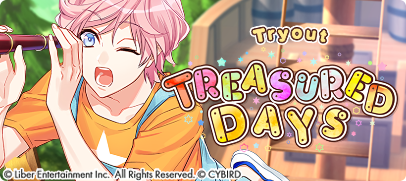 Treasured Days Tryouts banner