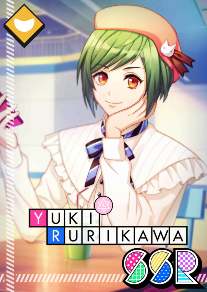 Yuki Rurikawa SSR Mankai Birthday unbloomed.png