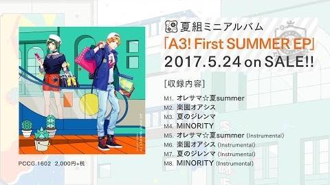 【A3!】A3! First SUMMER EP 試聴動画