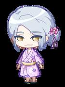 Azuma Yukata chibi