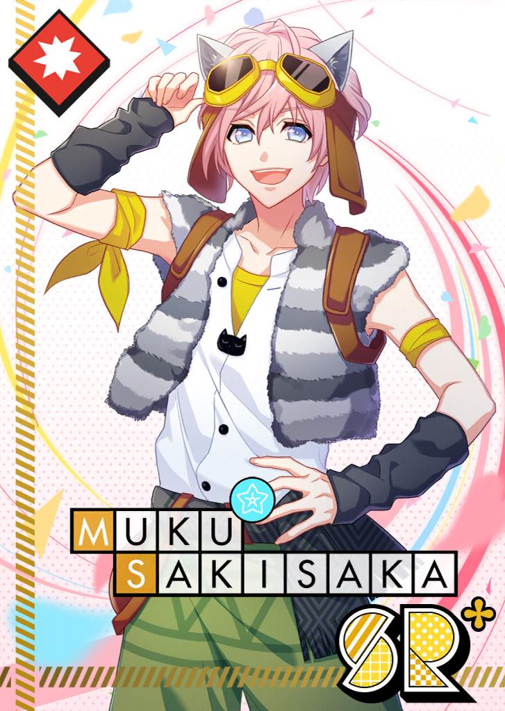 Muku Sakisaka SR Cat At Attention bloomed.png