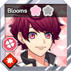 Copy card bloomed