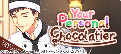 Your Personal Chocolatier Tryouts banner